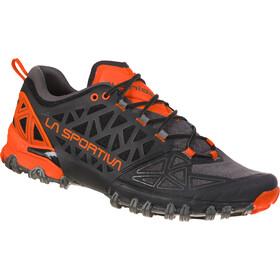 La Sportiva Bushido II Running Shoes Herren carbon/tangerine